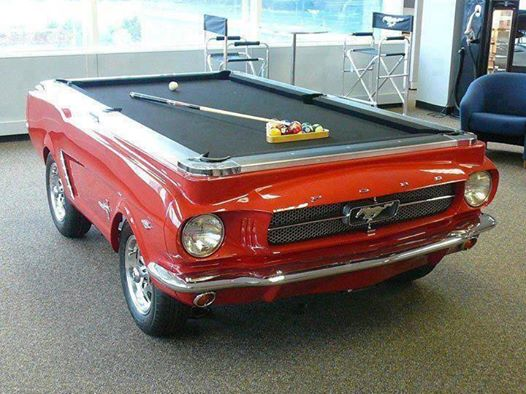 Matchmaker Mary Mustang Pool Table