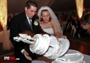 Mary Monday Wedding Cake