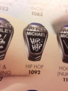 Matchmaker Mary Hip Hop Ring