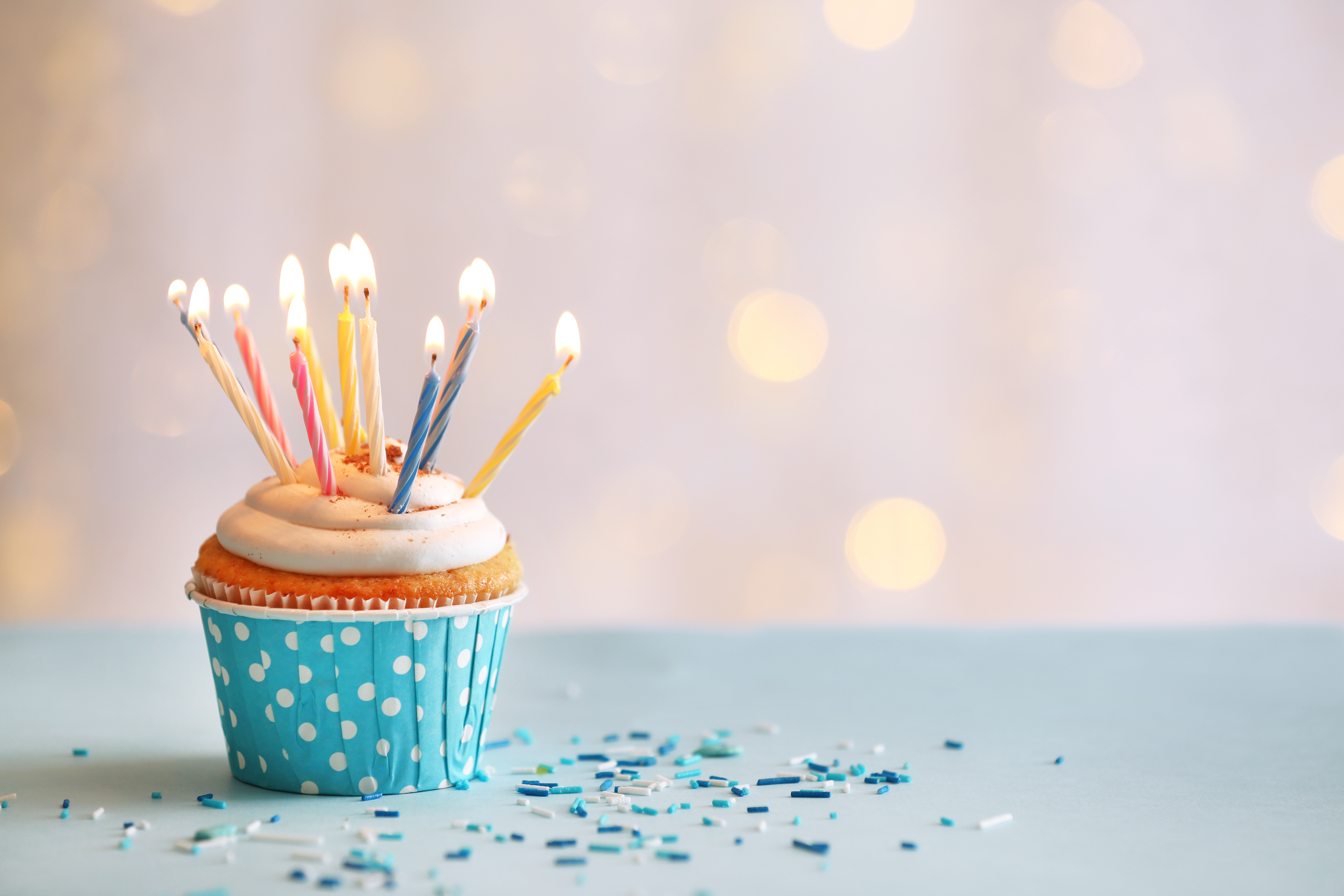 delicious birthday cupcake on table on light background matchmaker logistics https matchmakerlogistics com delicious birthday cupcake on table on light background