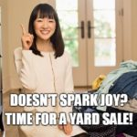 Can Yard Sales Spark Joy?
