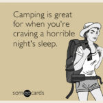 My First Weekend of Camping Capers