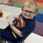 A Superhero Goes To Kindergarten