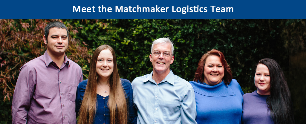 Meet the Matchmaker Logistics Team